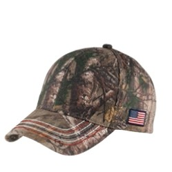 Port Authority® Americana Contrast Stitch Camouflage Cap