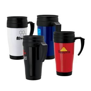 Metro 16 oz. Double Wall PP Mug
