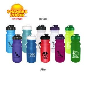 20 Oz. Sun Fun Cycle Bottle with Flip Top Lid