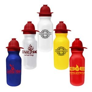 20 Oz. Value Cycle Bottle w/ Fireman Helmet Push 'n Pull Cap
