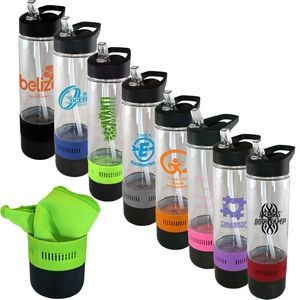 17 oz. Tritan™ Bottle with Cooling Towel