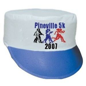 Polyester Felt Painter's Cap with Contrast Visor