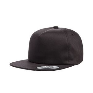 Yupoong Adult Unstructured 5-Panel Snapback Cap
