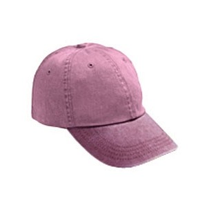 Anvil / Cotton Deluxe Adult Solid Low-Profile Pigment-Dyed Cap