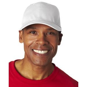 ULTRACLUB Adult Classic Cut Cotton Twill 6-Panel Cap
