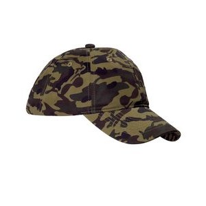 Big Accessories Unstructured Camo Cap