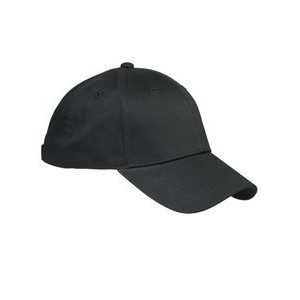 Big Accessories 6-Panel Structured Twill Cap