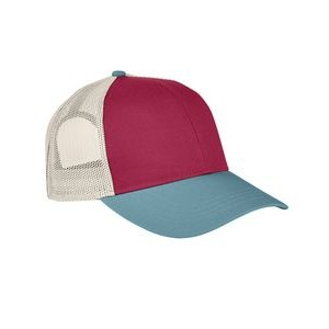 Authentic Pigment Accessories Tri-Color Trucker Cap