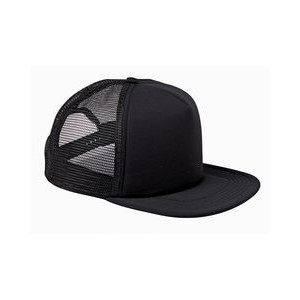 Big Accessories 5-Panel Foam Front Trucker Cap
