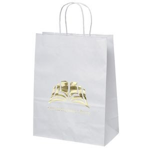 Jenny White Shopper Bag (Foil)