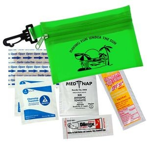 Translucent Zip Tote Sun Kit