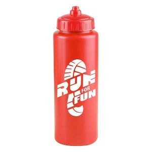 The Sports Quart - 32 oz. Sports Bottle - Valve Lid