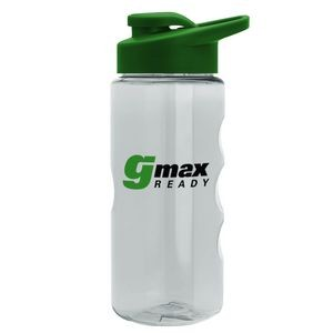 22 oz. Tritan Mini Mountain Sports Bottle - Drink Thru Lid