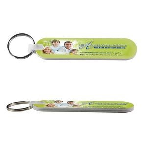 """Mani-on-the-Go"" Multi-Color Thick Foam Nail File Keychain"