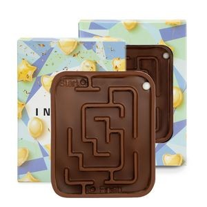 Milk Chocolate Molded Maze w/Custom Box