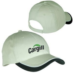 Low-Profile Structured Cap