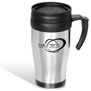 16 Oz. Stainless Commuter Mug