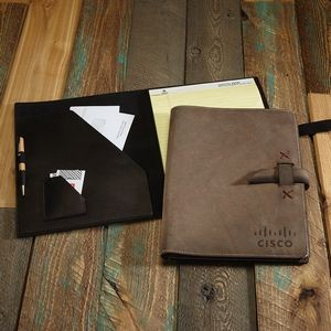 TASKER Leather Padfolio