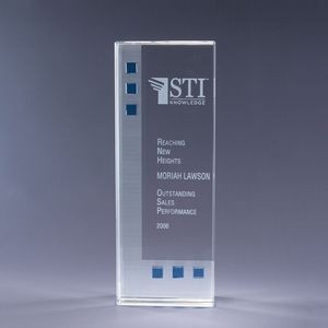 Dimensions in Blue Crystal Award