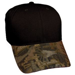 Kati Solid Crown Oilfield Camo Cap (Blank)