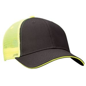 Valucap™ Sandwich w/Mesh Back Cap (Blank)