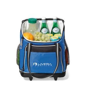 Harbor Wheeled Cooler Blue