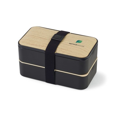 Osaka Bento Lunch Box - Black
