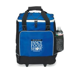 Bravo Wheeled Cooler Blue