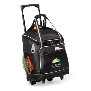 Harbor Wheeled Cooler Black