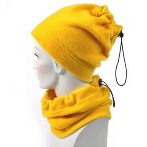 Gold Fleece Neck Gaiter