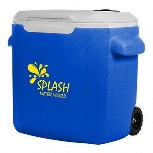 Coleman® 28-Quart Wheeled Cooler