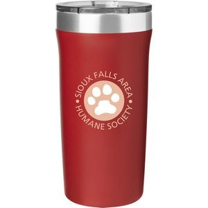 18 Oz. Palermo Powder Tumbler (Matte Red)