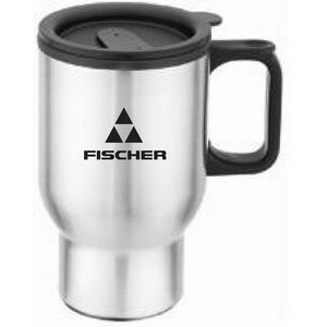 16 Oz. Stainless Steel Body Mug