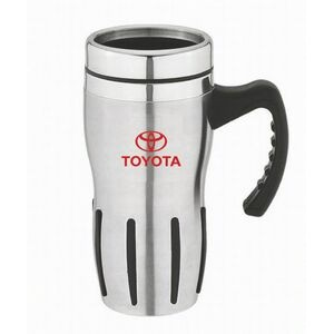 16 Oz. Stainless Steel Body Travel Mug