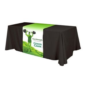 Full Color Polyester Top Table Runner (Front, Top & Back)