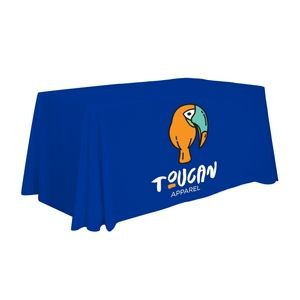 4' Economy Table Throw (Full-Color Front Only)