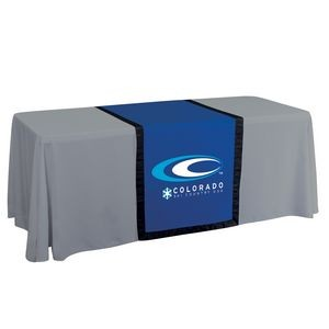 "28"" Accent Table Runner (Full-Color Front Only)"