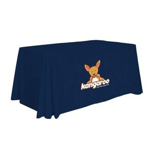 4' Standard Table Throw (Full-Color Front Only)