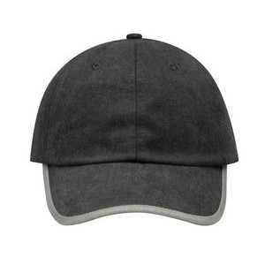 Adams Challenger Pigment Dyed Cap with Roll Over Contrast Tipping-Closeout