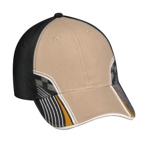 Adams Intimidator Cap with Checkered Flag design-Closeout
