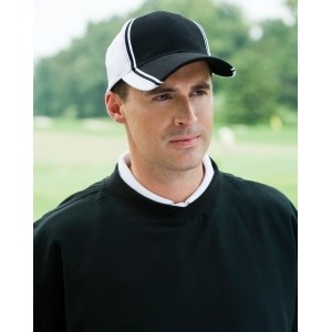 Adams Collegiate Twill Cap with Two-Tone Crown-Closeout
