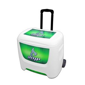 White Igloo® Roller Cooler