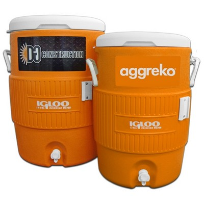 Igloo® 10 Gallon Seat Top Cooler with Cup Dispenser