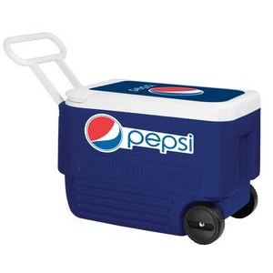 Majestic Blue Igloo® Wheelie Cool 38 Cooler