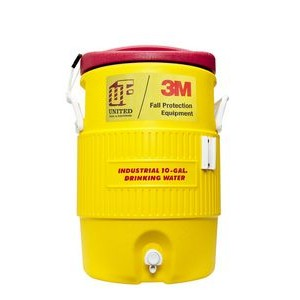 Safety Yellow Igloo� Industrial 10 Gallon Beverage Cooler
