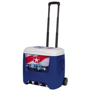 Majestic Blue Igloo® VTRIO Roller Cooler