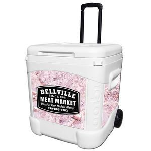 Kings Camo® Pink Igloo® Ice Cube 60 Roller Cooler