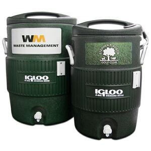 Hunter Green Igloo� Industrial 10 Gallon Beverage Cooler