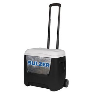 Black Igloo® Breeze 28 Roller Cooler Black