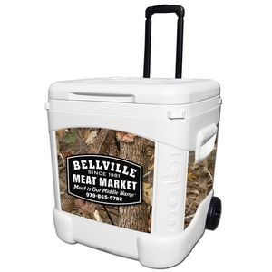 Kings Camo® Woodland Igloo® Ice Cube 60 Roller Cooler